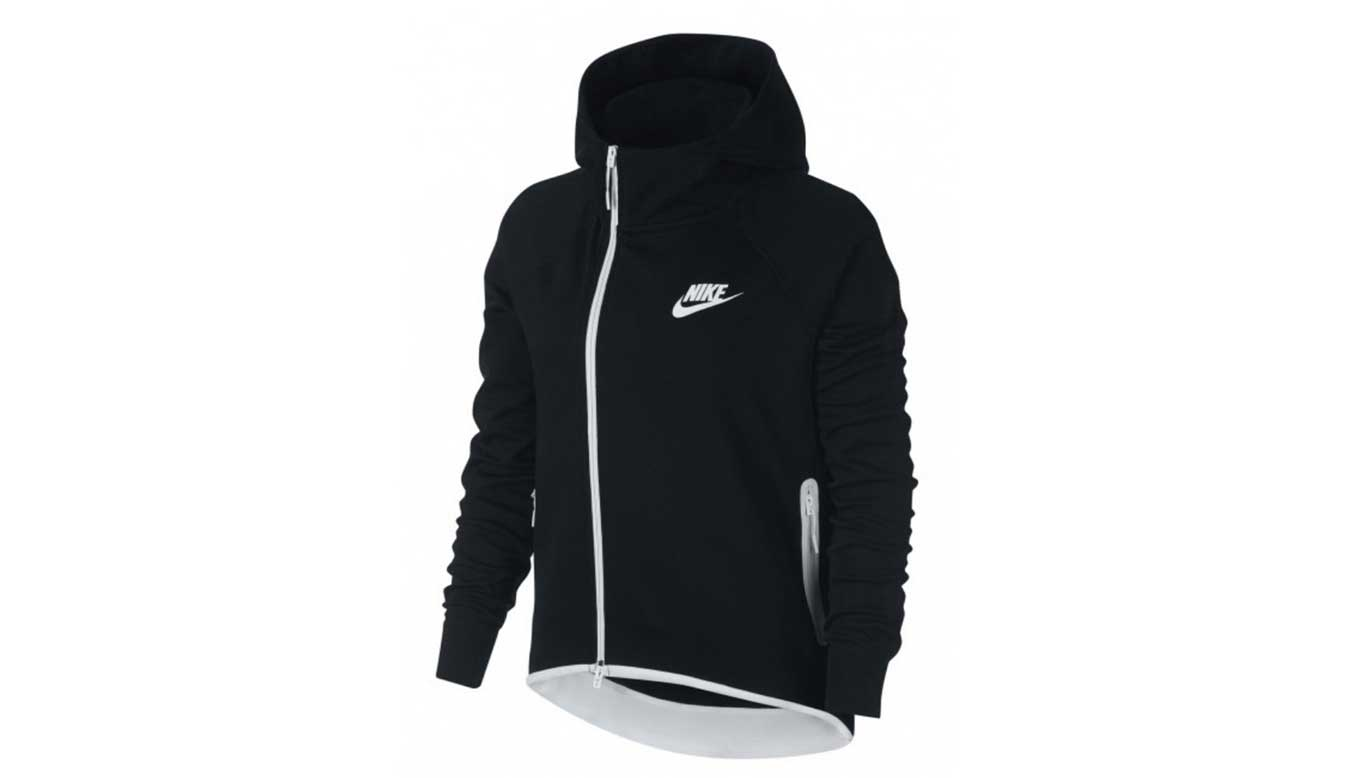 Nike Sportswear Women Tech Fleece čierne 930757-011 - vyskúšajte osobne v obchode