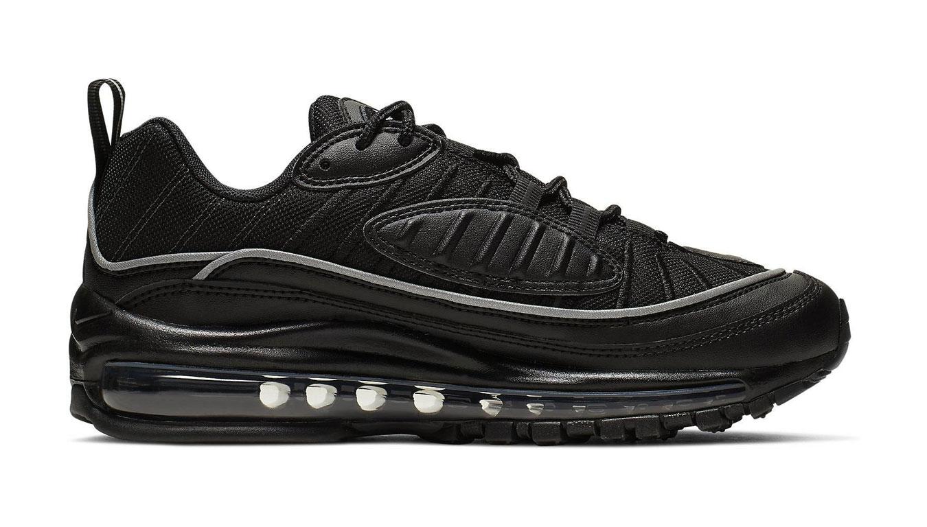 Nike W Air Max 98 čierne AH6799-004 - vyskúšajte osobne v obchode