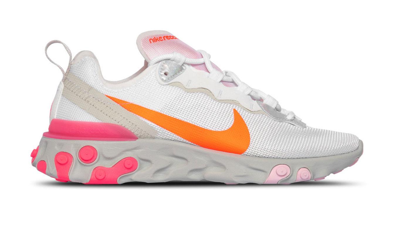 Nike W React Element 55 biele CV3035-100 - vyskúšajte osobne v obchode