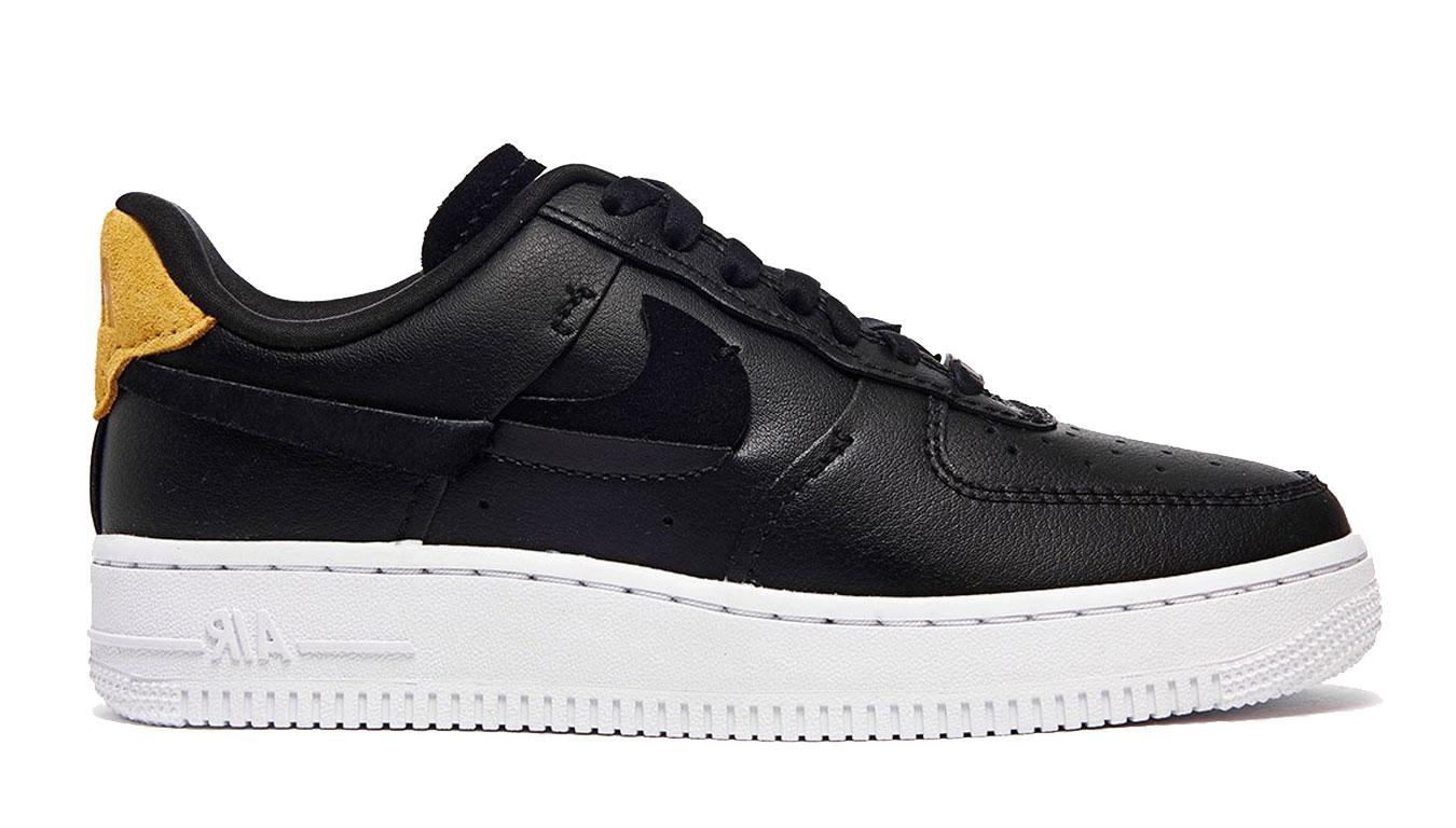 Nike Wmns Air Force 1 Vandalized Black White čierne 898889-014 - vyskúšajte osobne v obchode