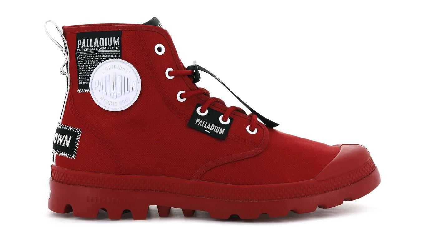 Palladium Pampa Lite Overlab červené 76639-625-M - vyskúšajte osobne v obchode