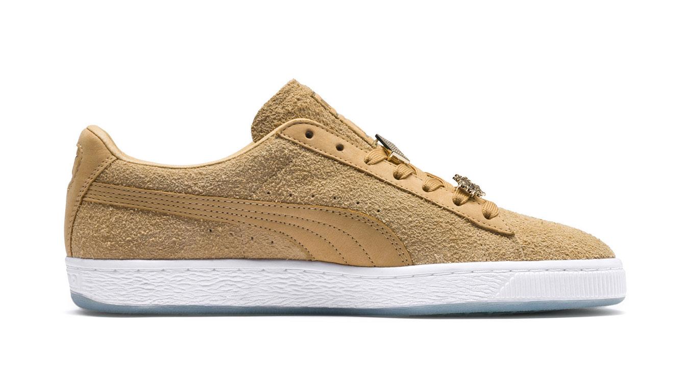 Puma x CHAPTER II Suede Classic Sneakers hnedé 366326_01 - vyskúšajte osobne v obchode