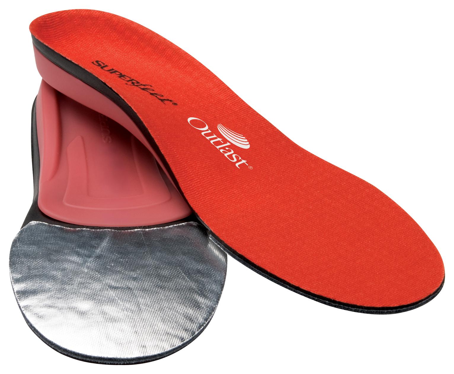 Vložky do topánok - Superfeet REDhot, mužské športové topánky a lyžiarky