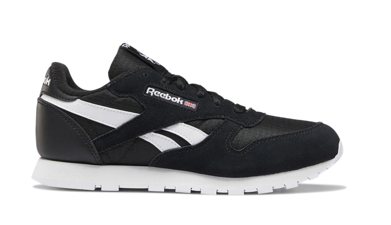 Reebok Classic Leather Black White čierne DV9594 - vyskúšajte osobne v obchode