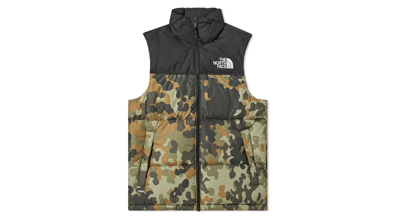 The North Face M 1996 Retro Nuptse Vest zelené NF0A3JQQF32