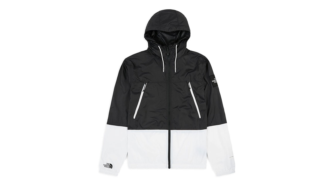The North Face M 1990 Seasonal Mountain Jacket Black White Reflective čierne NF0A2S4ZFV31