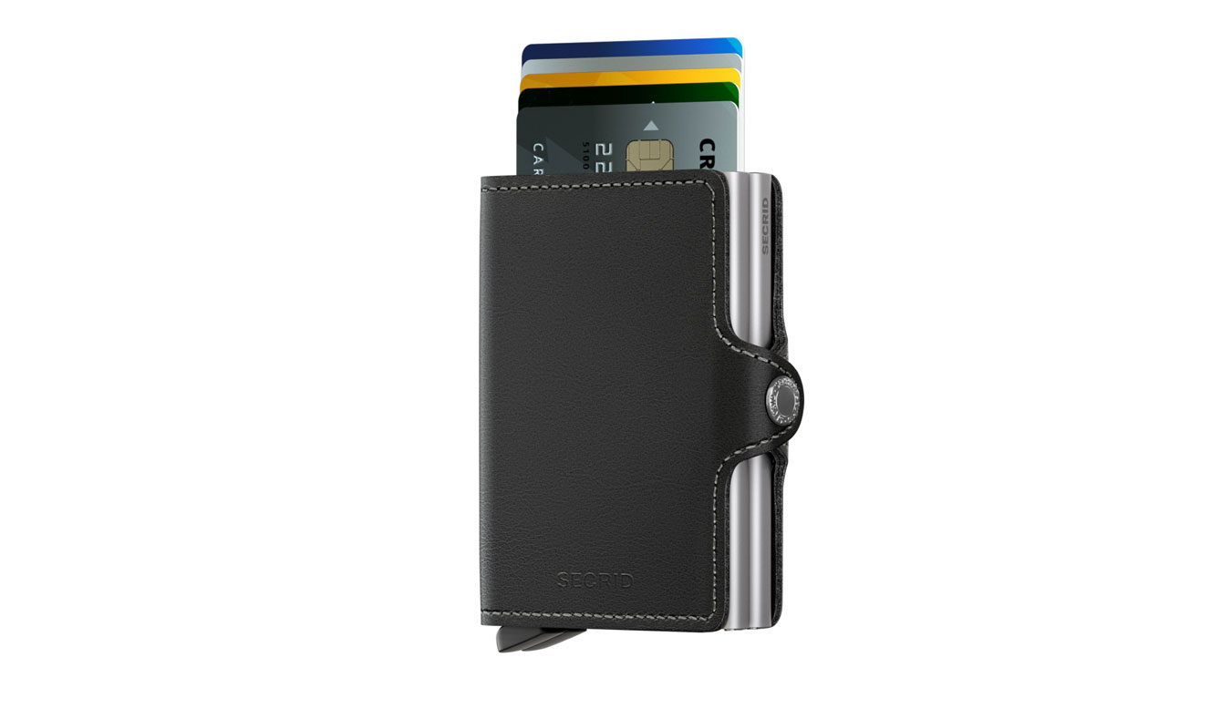 Secrid Twinwallet Original Black čierne TO-BLACK