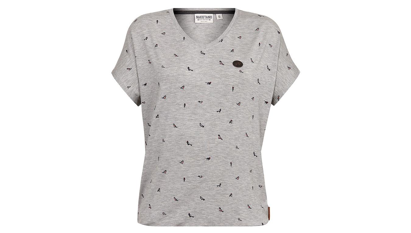 f84968d32ef6 Dámske krátke tričko so zvýrazneným pásom KouCla  Veľkosť ...