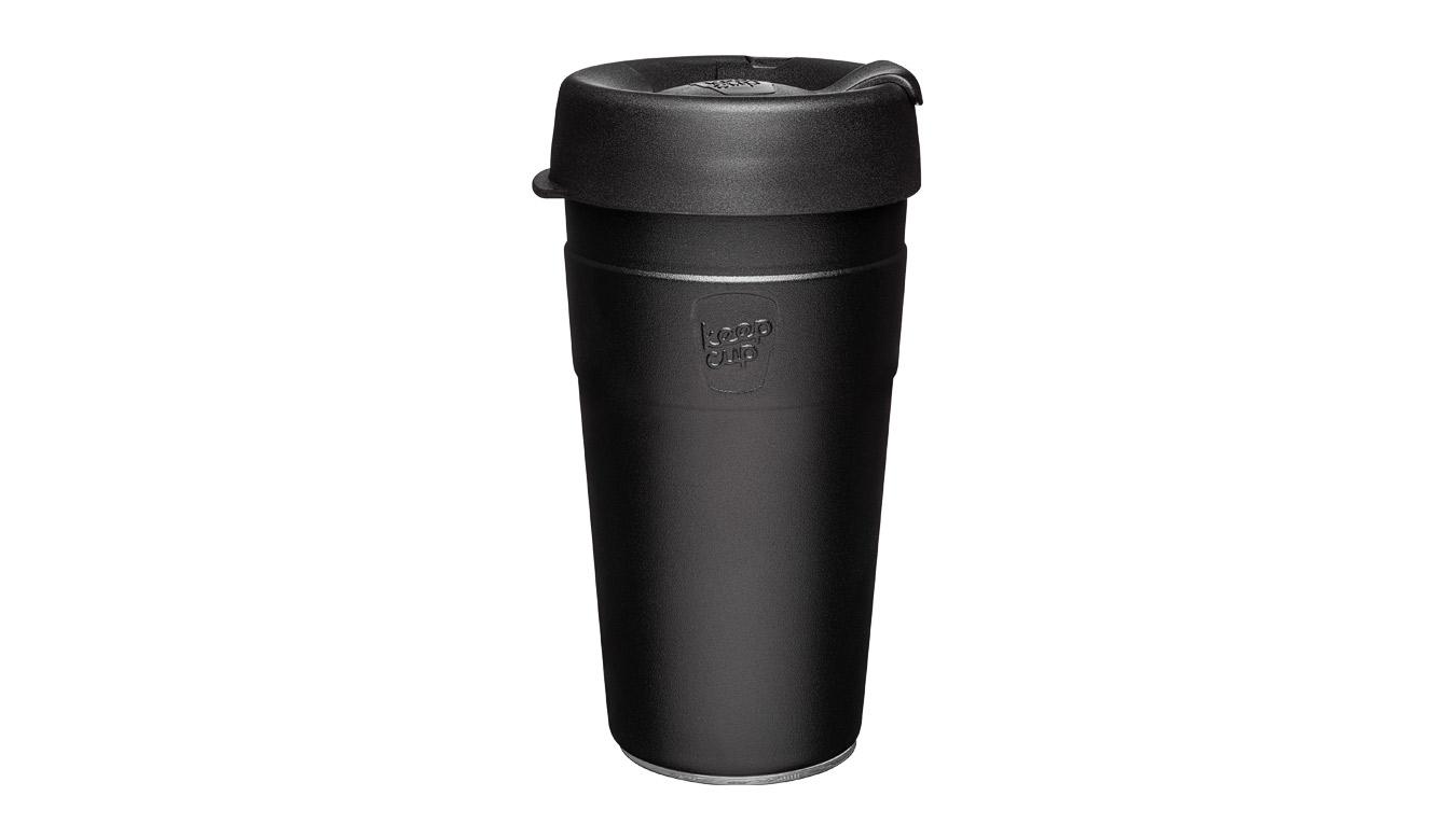 KeepCup Thermal Stainless Steel L/16 oz čierne TBLA16 - vyskúšajte osobne v obchode