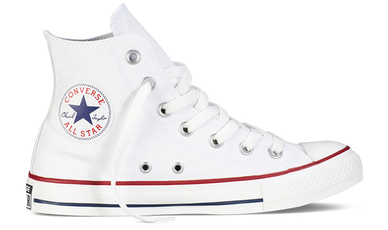 Converse Chuck Taylor All Star biele M7650 - vyskúšajte osobne v obchode