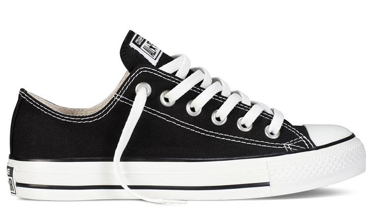 Converse Chuck Taylor All Star čierne M9166 - vyskúšajte osobne v obchode