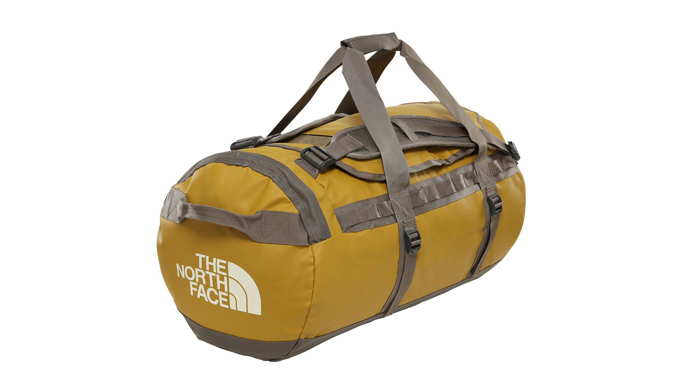 The North Face Base Camp Duffel - M British khakhi hnedé T93ETPEK8