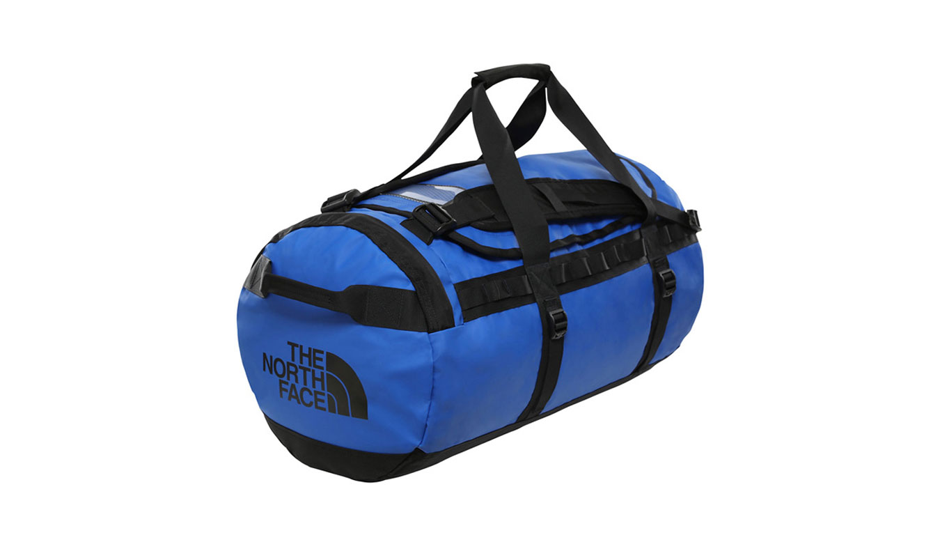 The North Face Base Camp Duffel - tng Blue - black modré T93ETPEF1