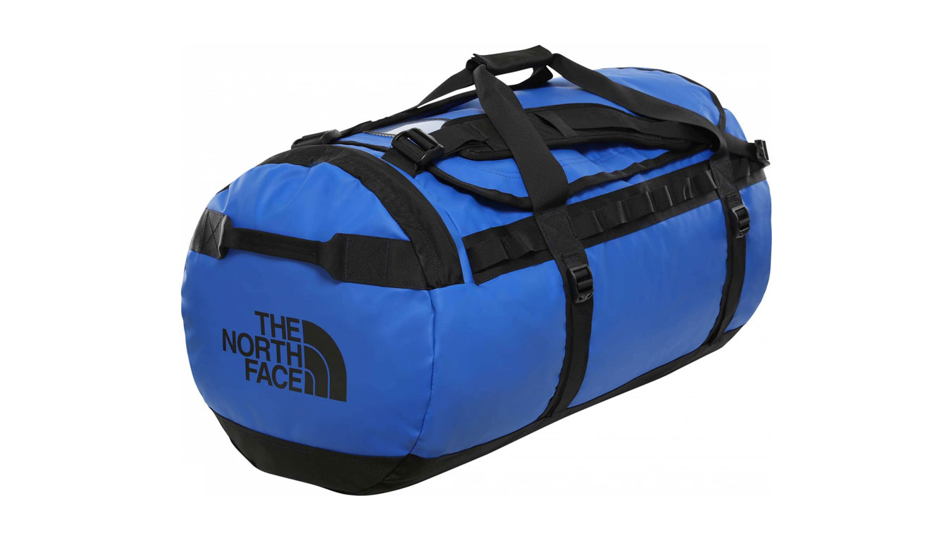 The North Face Base Camp Duffel - tng Blue - black modré T93ETQEF1