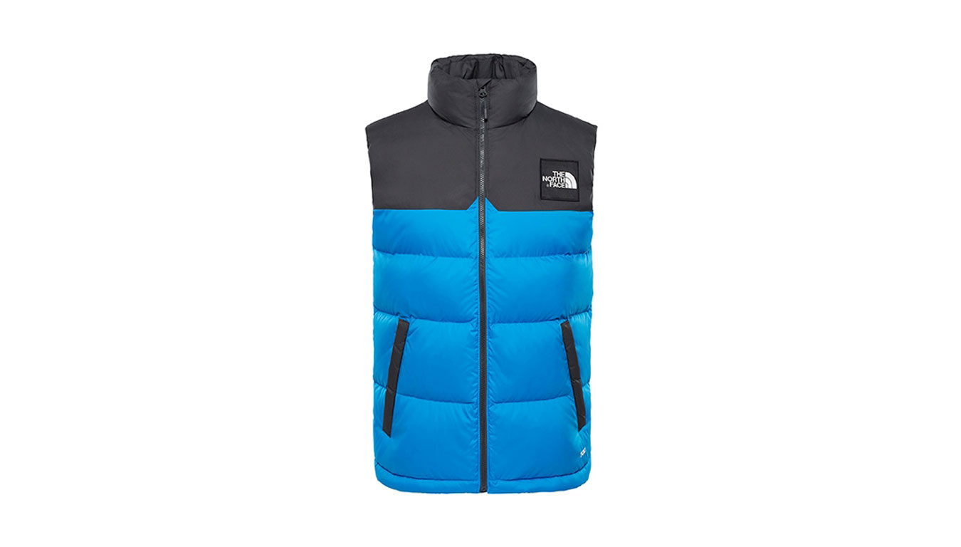 The North Face M 1992 Nuptse Vest BmrbluAphltgry modré T92ZWNAA2