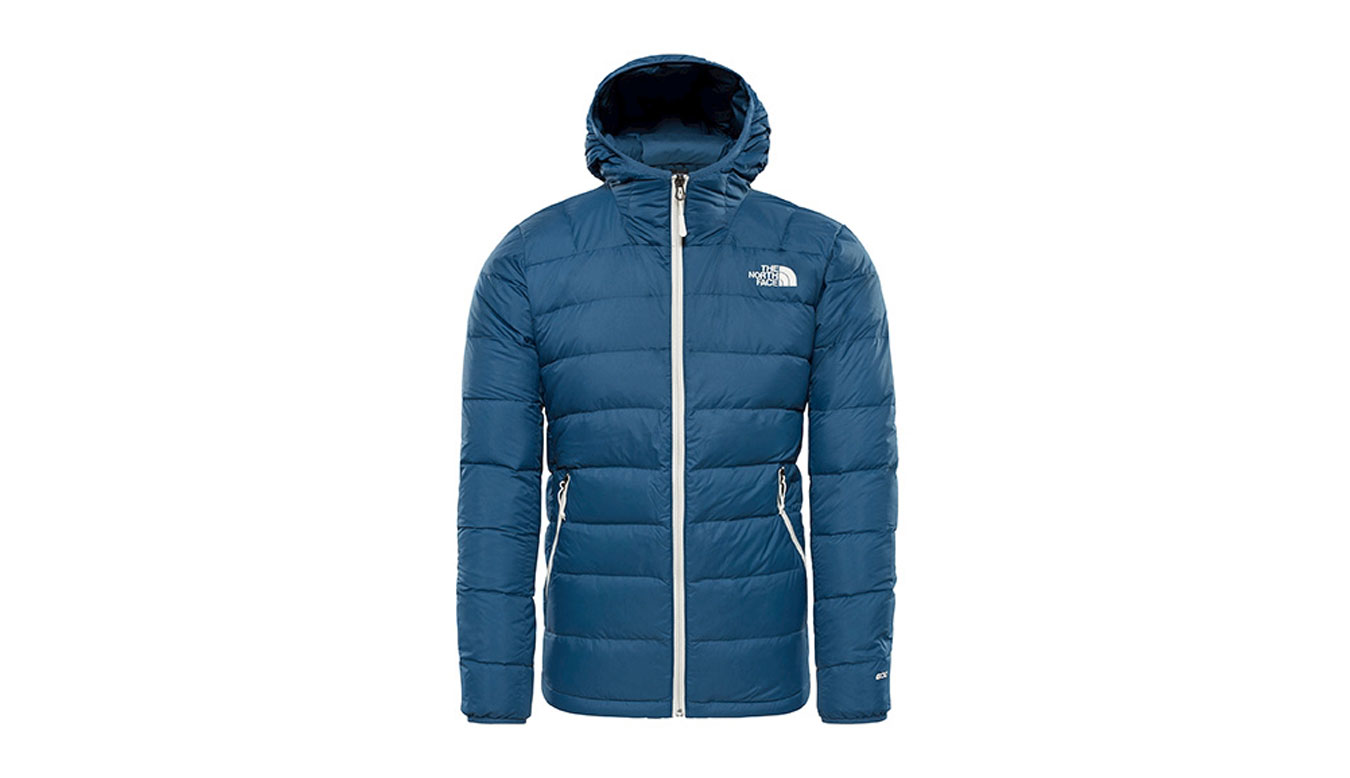 The North Face M La Paz Hooded Jacket Shady Blue modré T0CYG9HDC