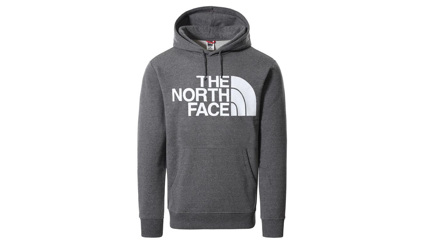 The North Face M Standard Hoodie Grey šedé NF0A3XYDDYY - vyskúšajte osobne v obchode