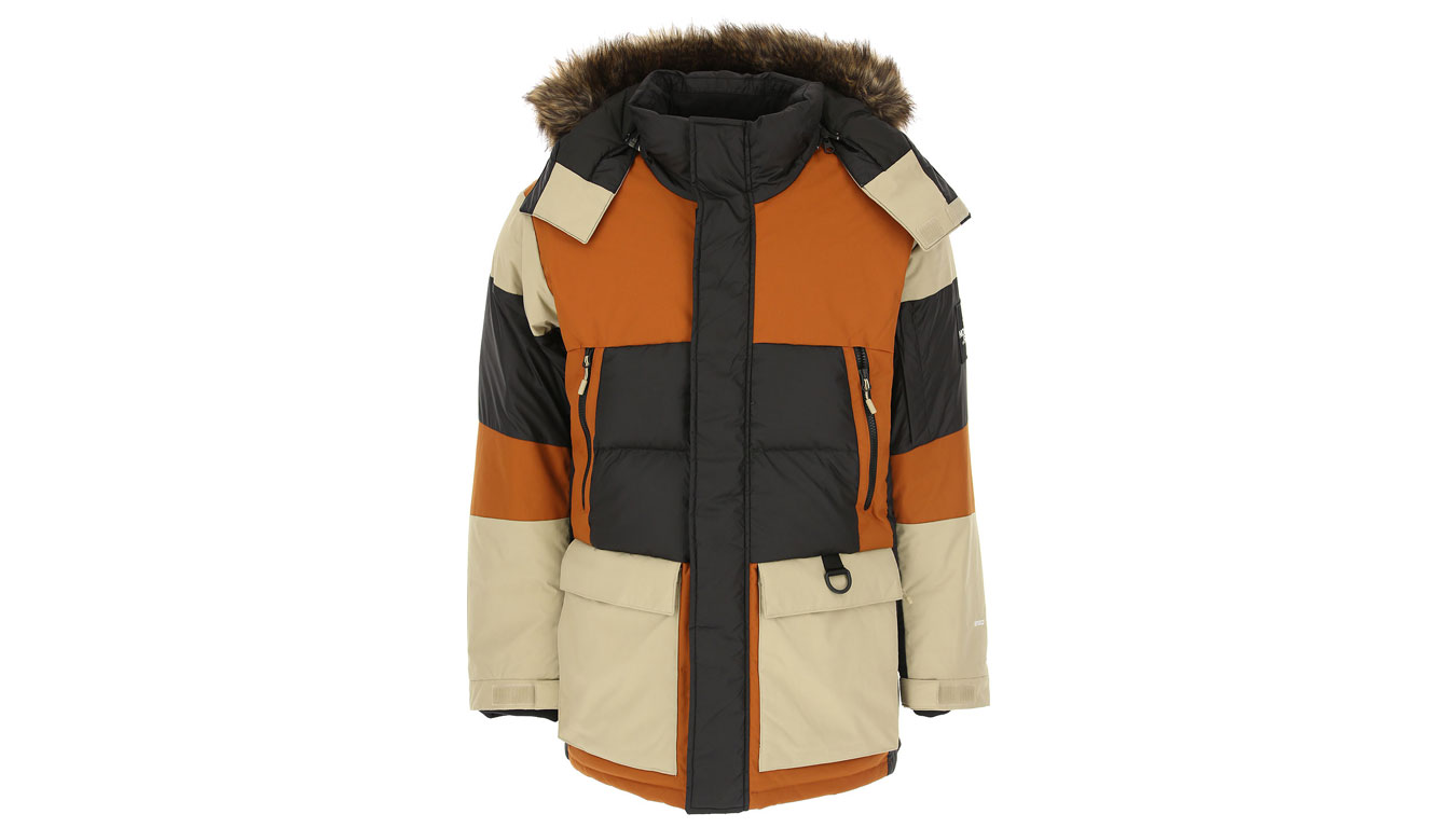 The North Face M Vostok Parka hnedé NF0A3L2IUBT1