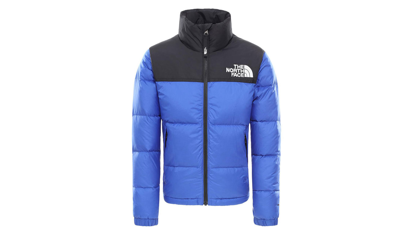 The North Face Retro Nuptse Kids modré NF0A3NOJCZ6