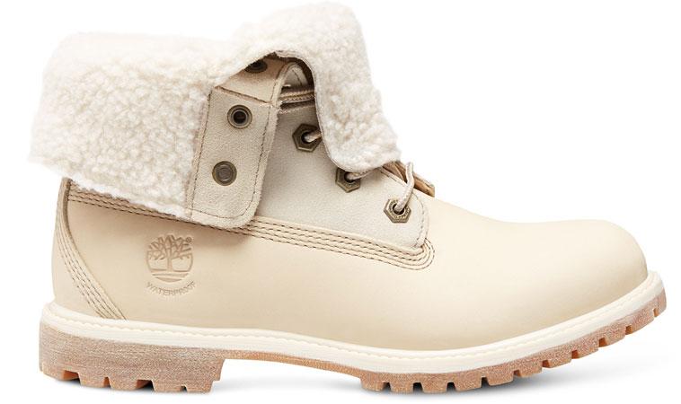 Timberland Teddy Fleece WP biele 8331R-WHT - vyskúšajte osobne v obchode
