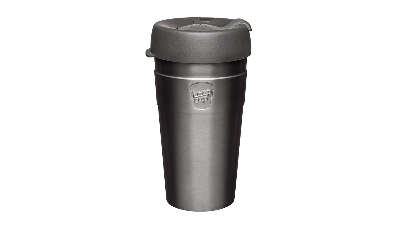 KeepCup Thermal Stainless Steel L/16 oz šedé TNIT16 - vyskúšajte osobne v obchode
