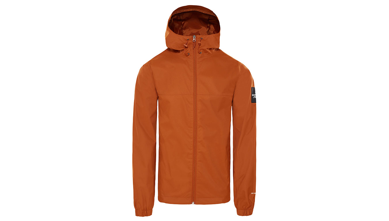 The North Face M Mountain Q Jkt Caramel Cafe oranžové T0CR3QUBT