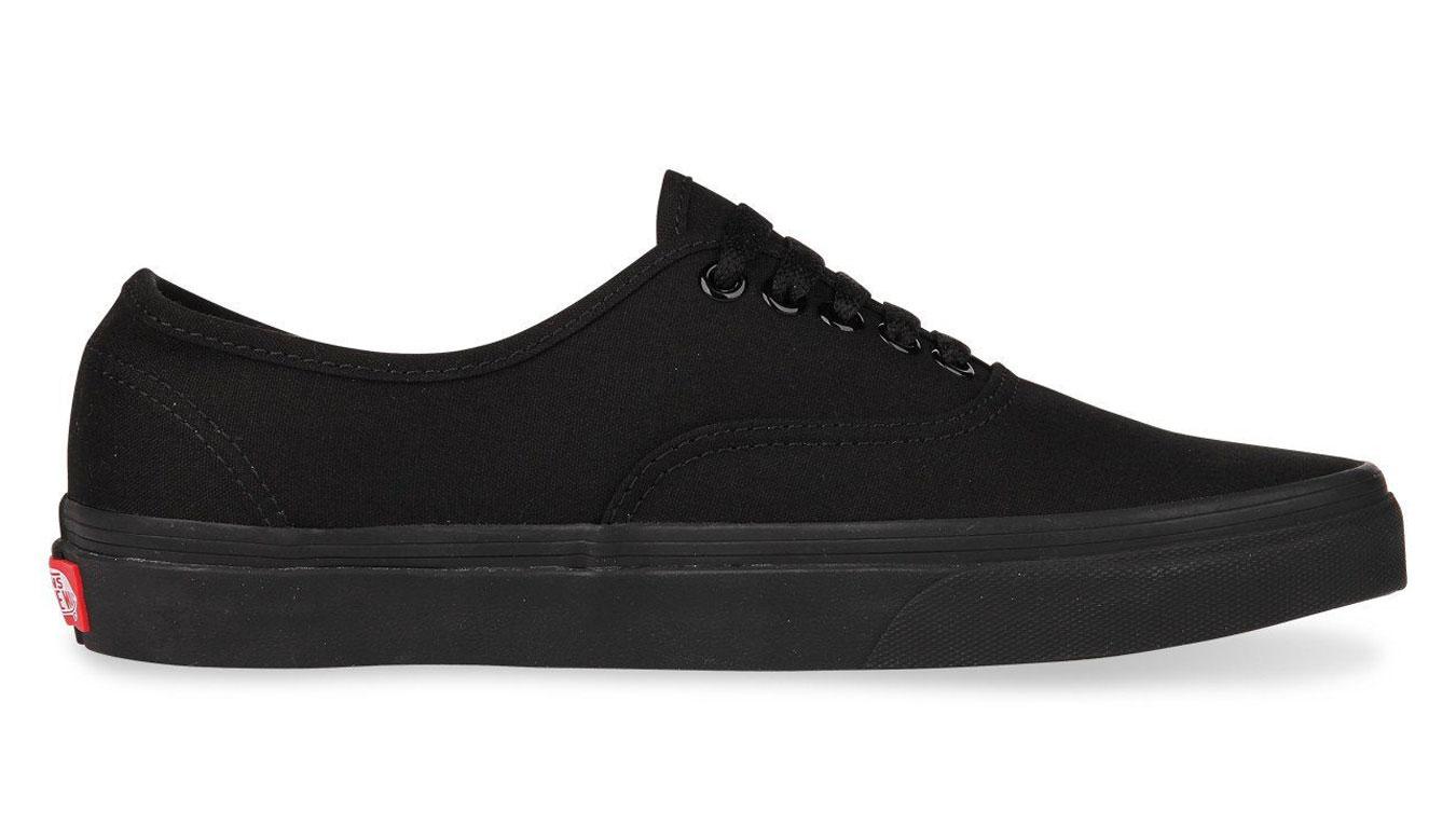 Vans Authentic Black Black čierne VN000EE3BKA - vyskúšajte osobne v obchode