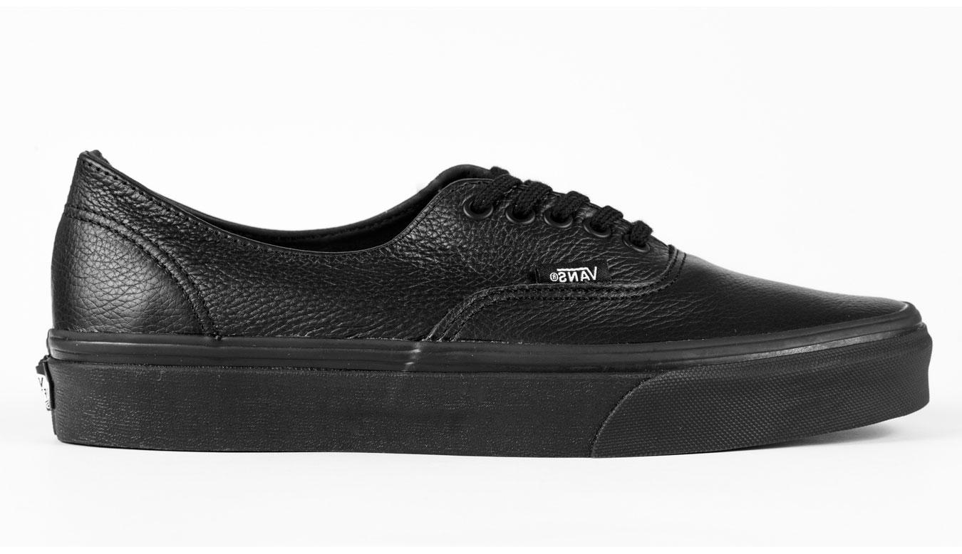 Vans Authentic Decon Premium Leather Black čierne V18CGKM - vyskúšajte osobne v obchode
