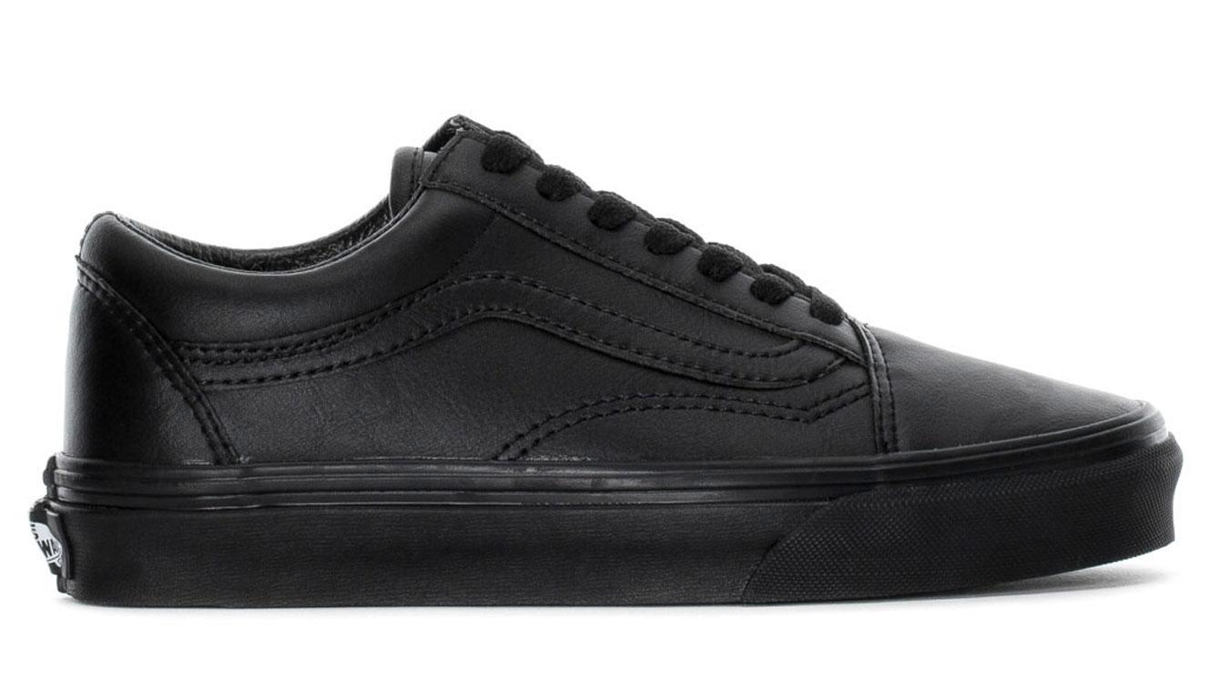 Vans Old Skool Classic Tumble Mono Black čierne VN0A38G1PXP - vyskúšajte osobne v obchode