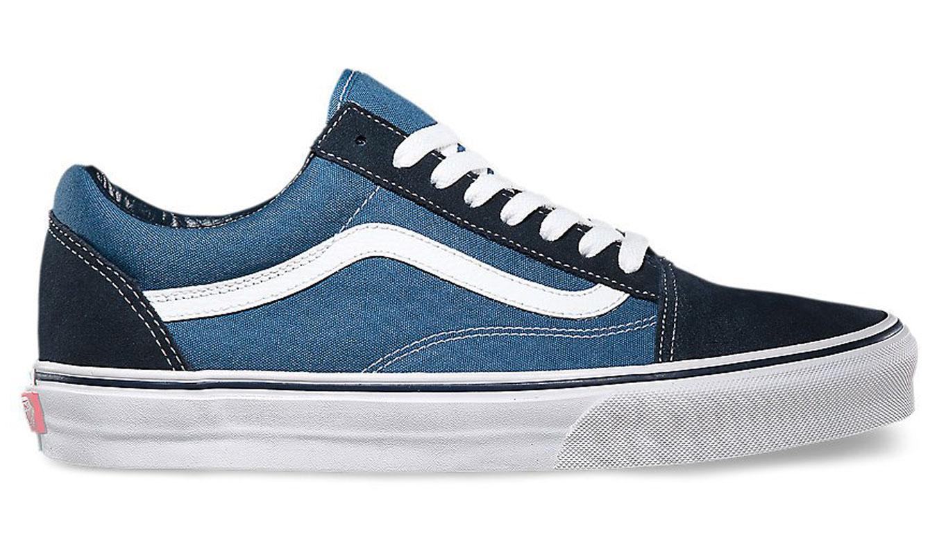 Vans Old Skool Navy modré VD3HNVY - vyskúšajte osobne v obchode