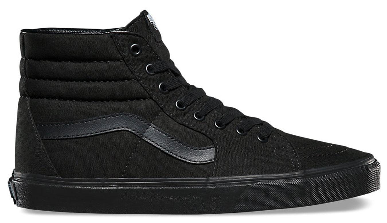 Vans SK8-Hi Black Black Black čierne VN000TS9BJ4 - vyskúšajte osobne v obchode