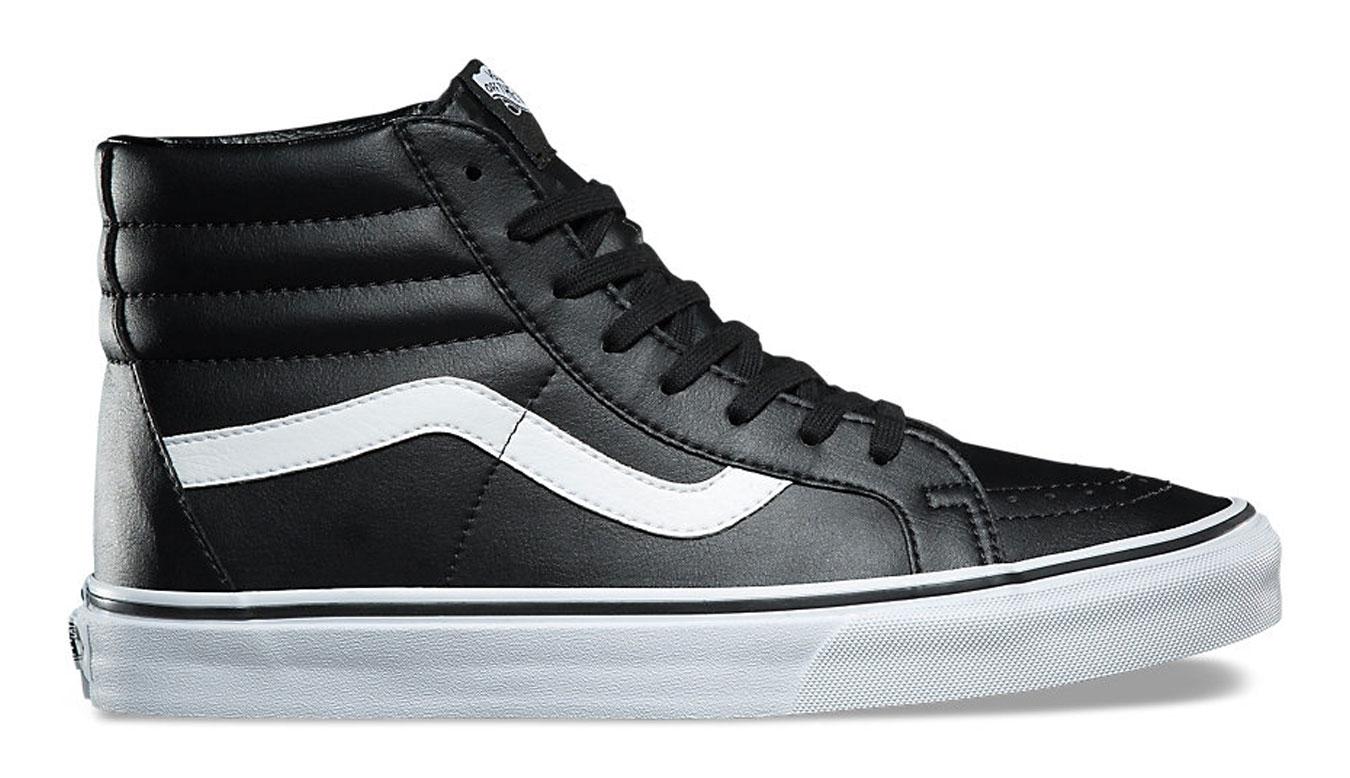 Vans SK8-Hi Reissue Classic Tumble Black Leather čierne VA2XSBNQR - vyskúšajte osobne v obchode