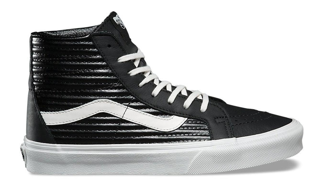 Vans SK8-Hi Reissue Moto Leather Black čierne VA2XSBOGG - vyskúšajte osobne v obchode