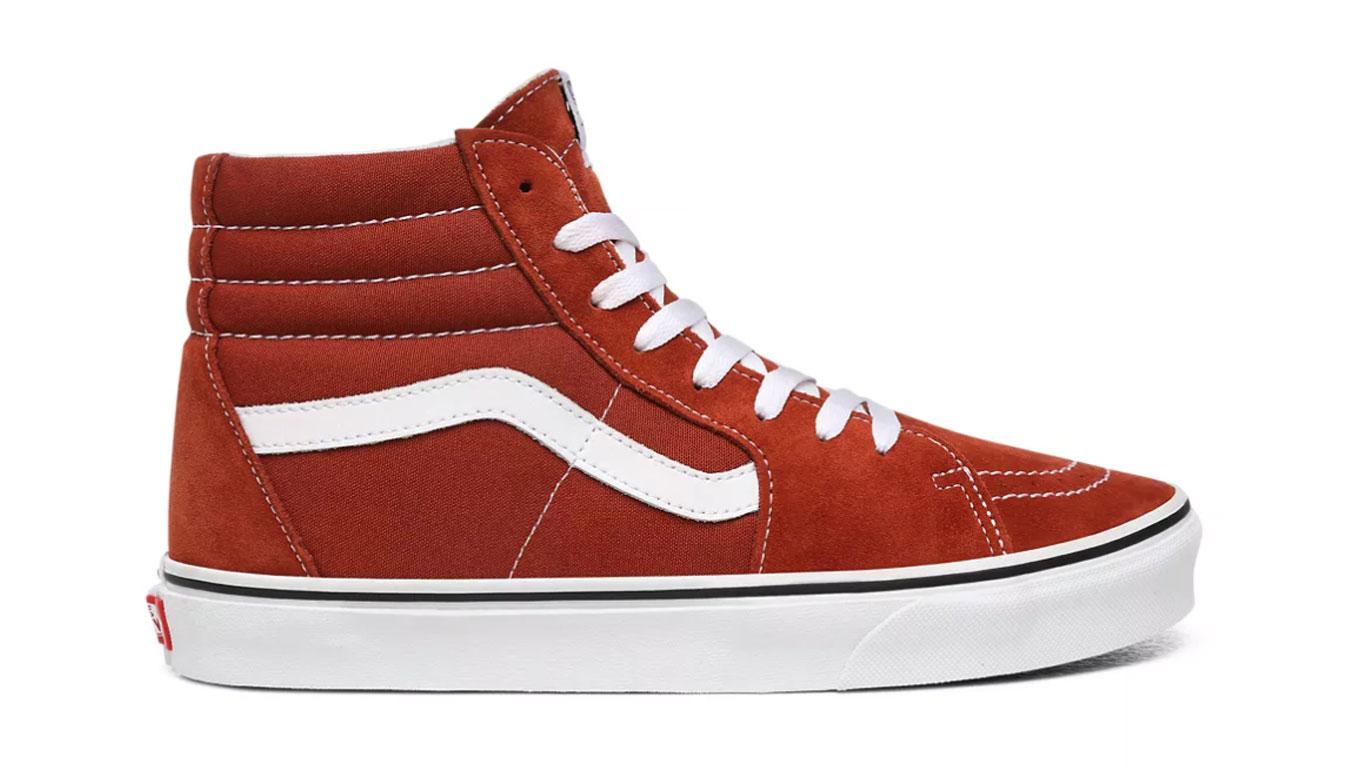 Vans Ua Sk8-Hi Picante/True White červené VN0A4U3CWK8 - vyskúšajte osobne v obchode