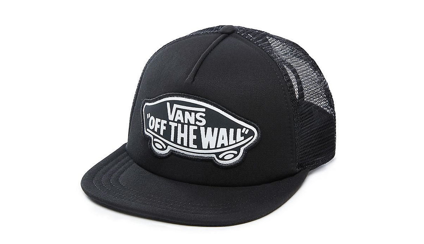 Vans Wm Beach Girl Trucker Hat čierne VN000H5LKR6