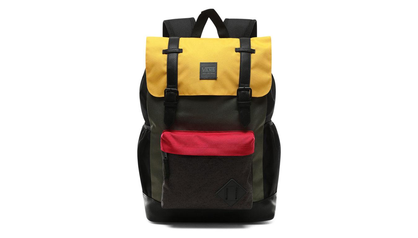 Vans Wm Crosstown Backpack zelené VN0A3UQ4UXM - vyskúšajte osobne v obchode