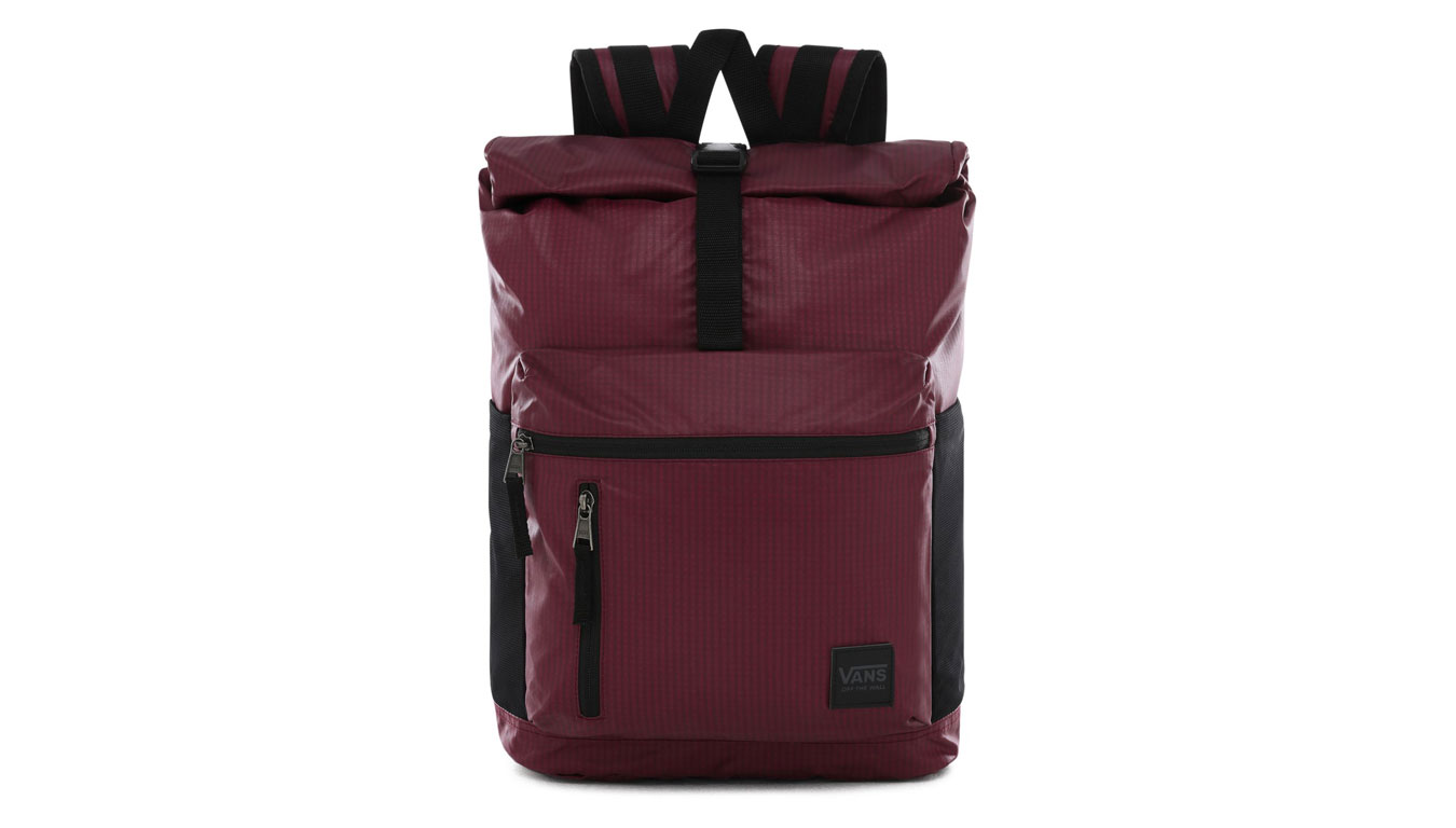 Vans Wm Roll It Backpack bordová VN0A47RE7D5 - vyskúšajte osobne v obchode