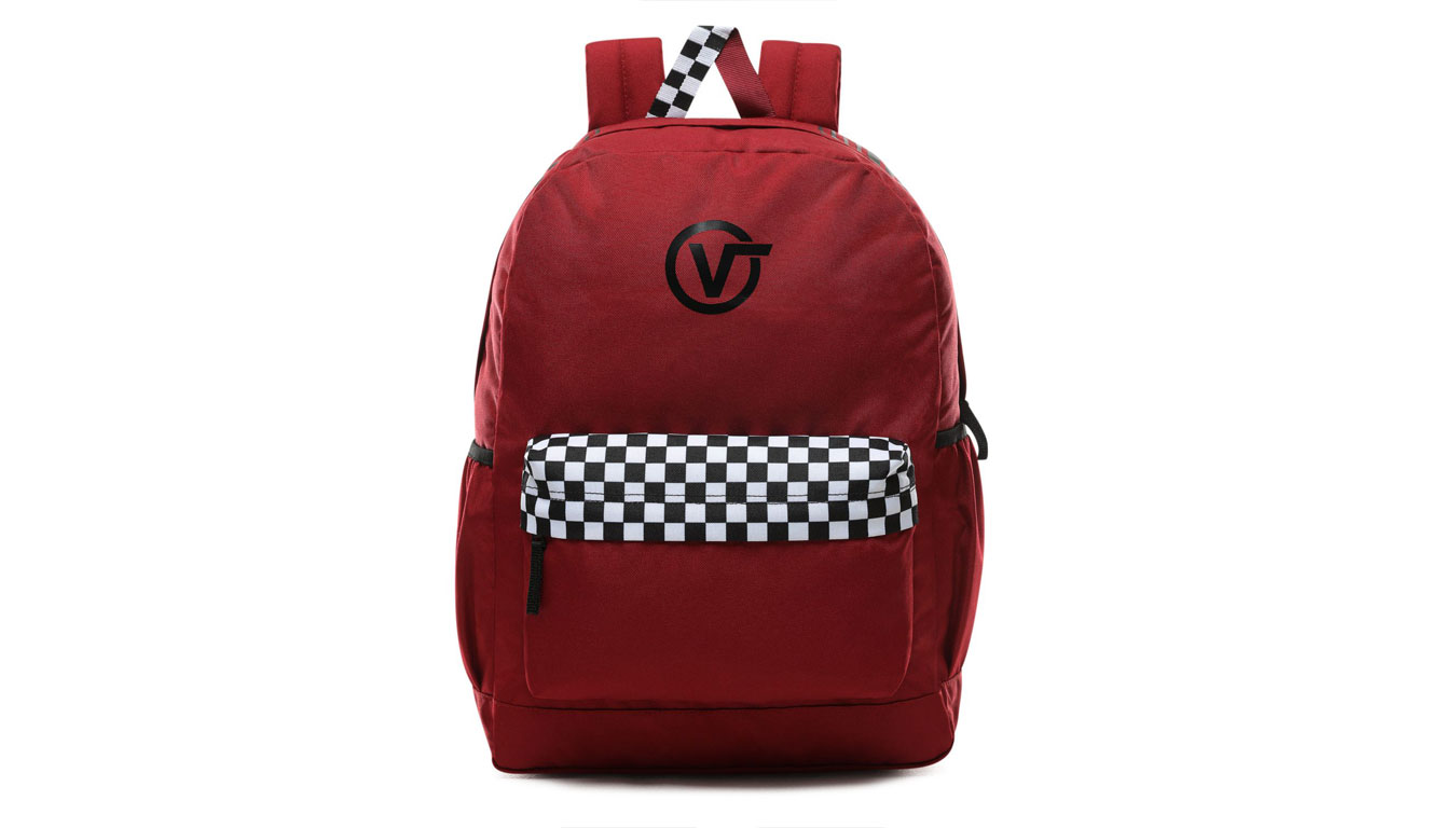 Vans Wm Sporty Realm Plus Backpack červené VN0A3PBITV1