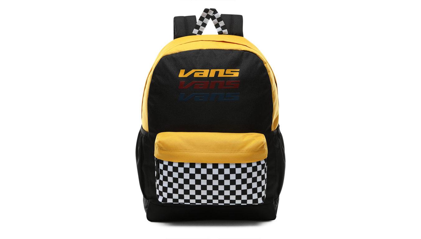 Vans Wm Sporty Realm Plus Backpack čierne VN0A3PBITVG - vyskúšajte osobne v obchode