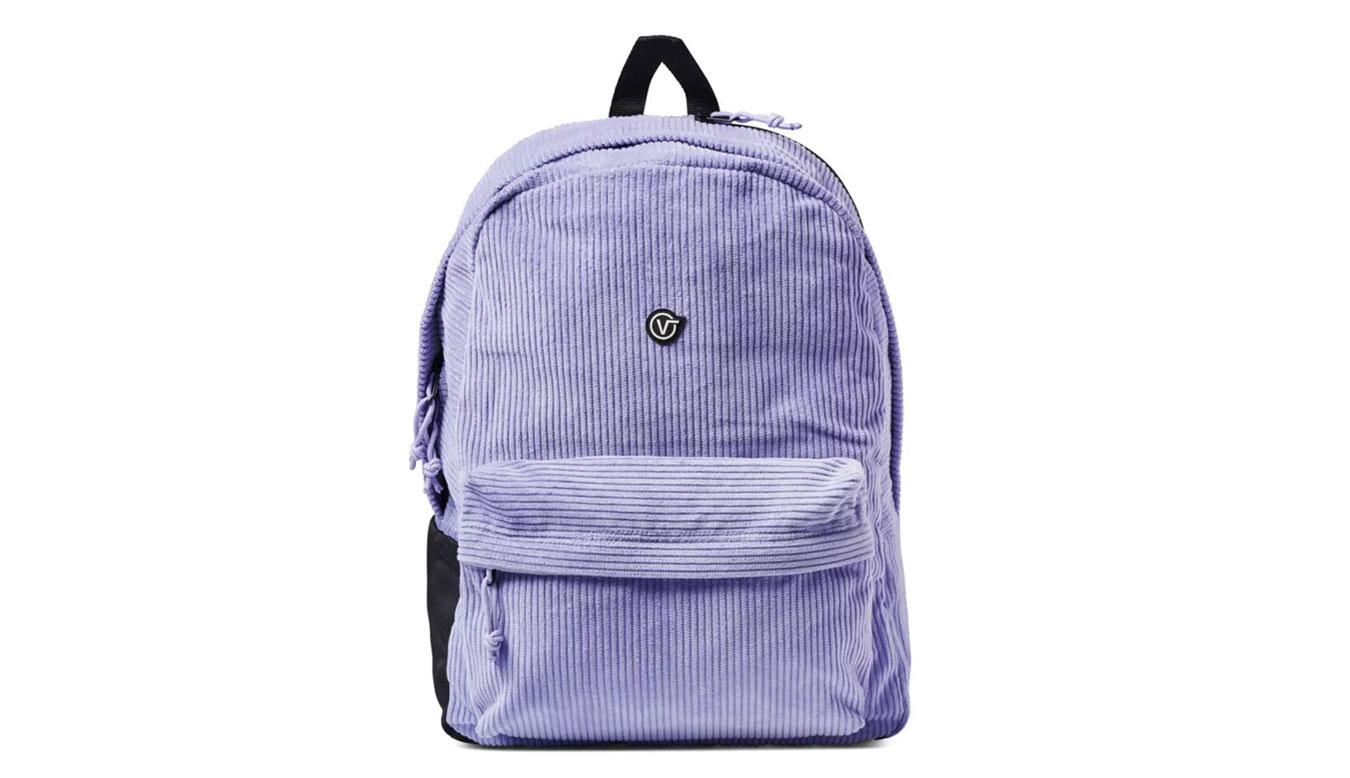 Vans x Anderson. Paak Corduroy Backpack fialové VN0A5FR54481 - vyskúšajte osobne v obchode