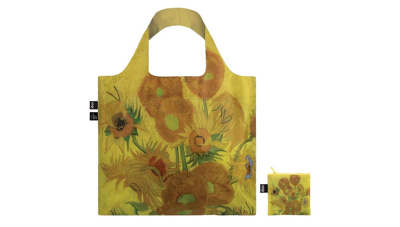 Loqi VINCENT VAN GOGH Sunflowers Bag žlté VG.SF - vyskúšajte osobne v obchode