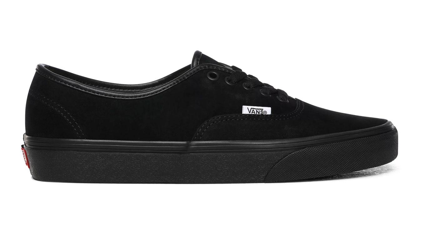 Vans Ua Authentic (Pig Suede) Black/Black čierne VN0A2Z5I18L - vyskúšajte osobne v obchode