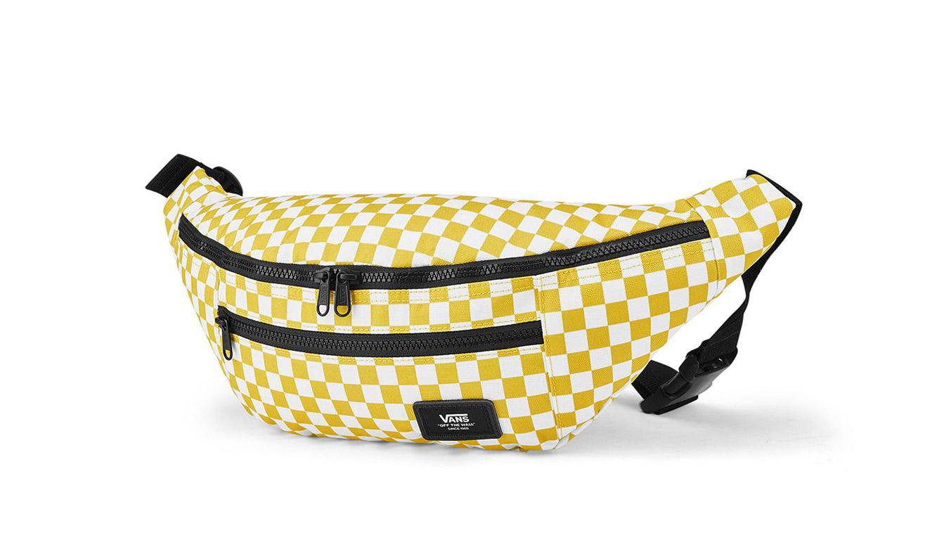 Vans Ward Cross Body Pack Sulphur/ White žlté VN0A2ZXXYPQ - vyskúšajte osobne v obchode