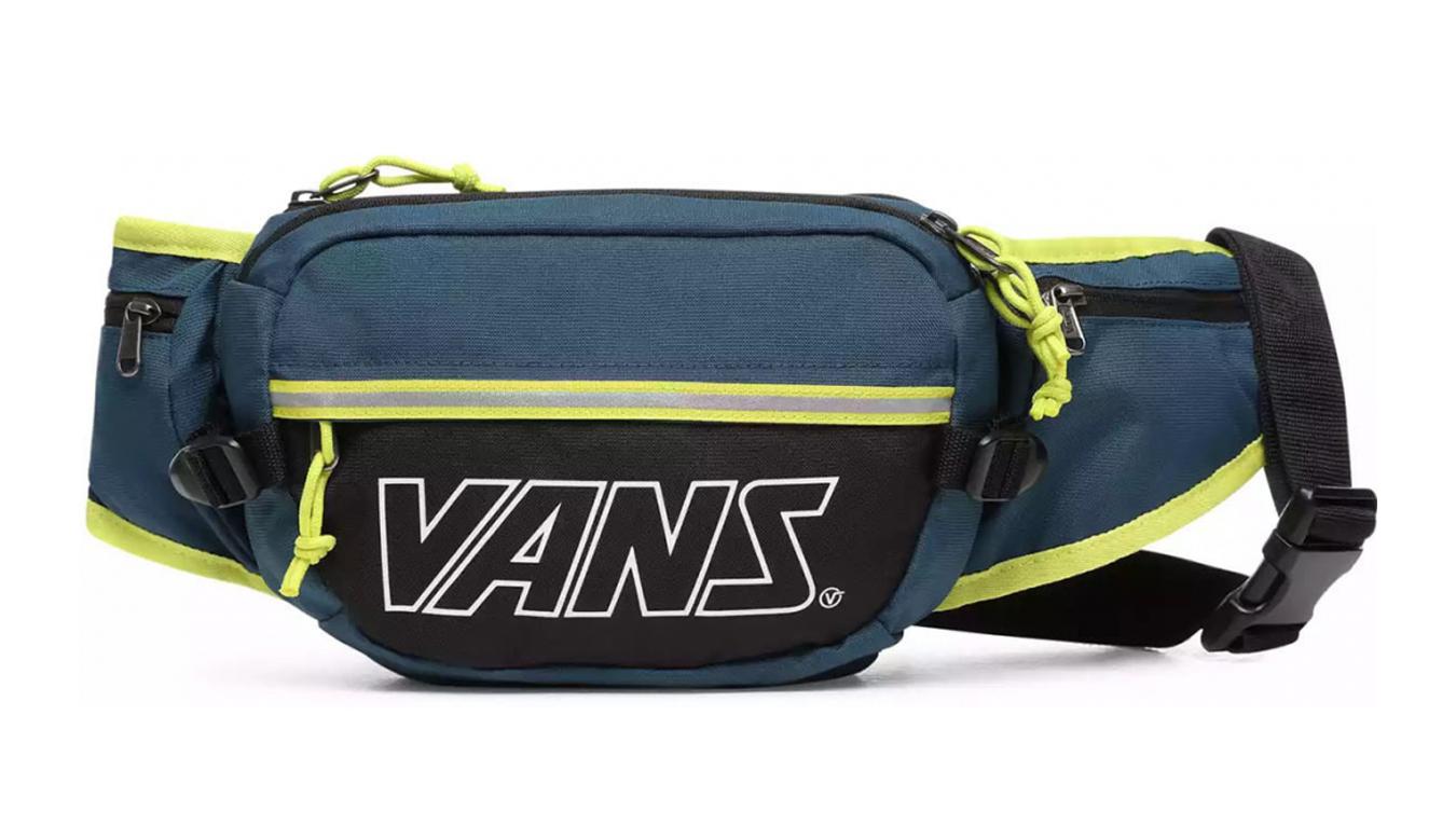 Vans Survey Bum Bag modré VN0A45GYYKP - vyskúšajte osobne v obchode