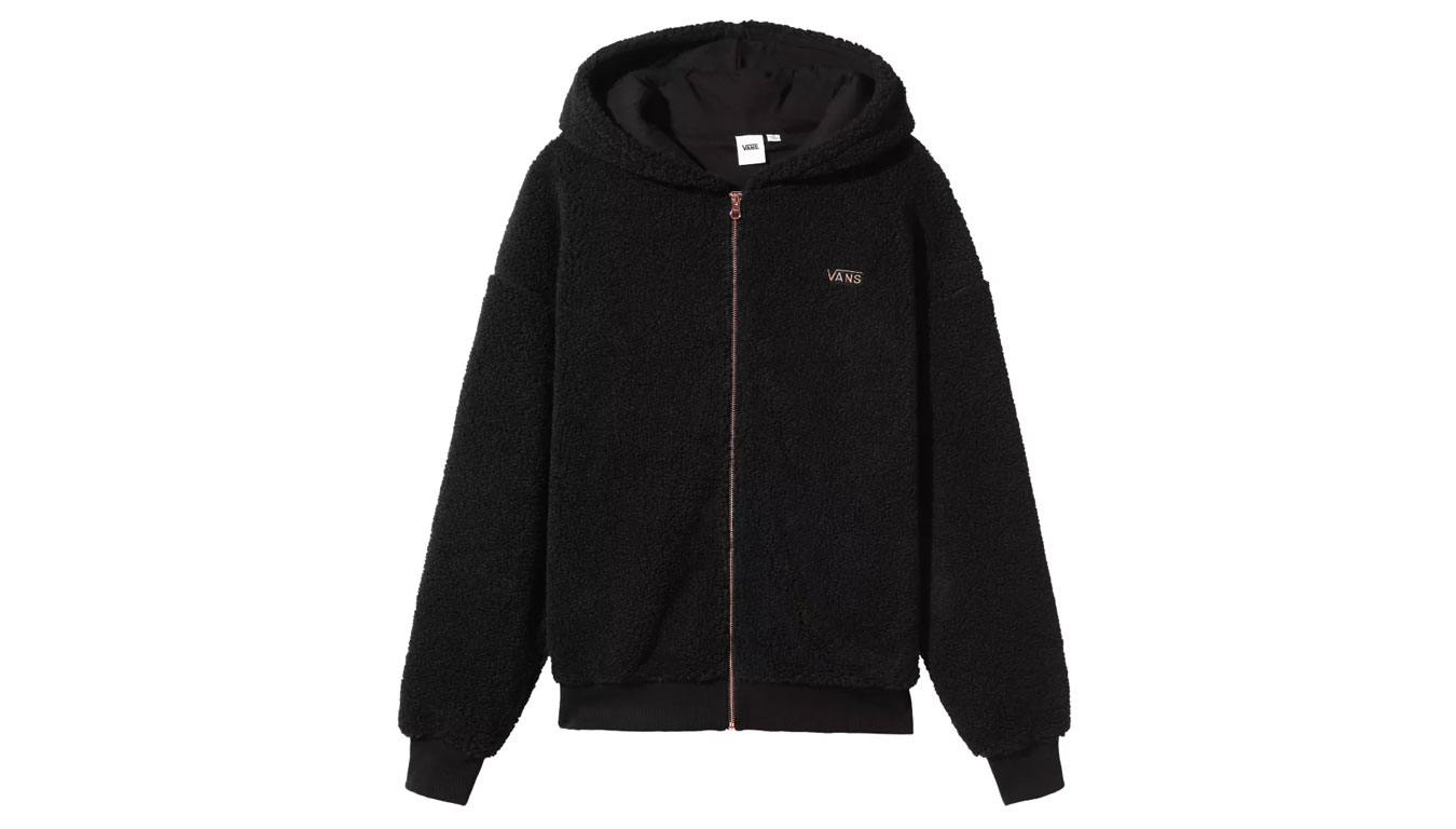 Vans Wm Soar Up Zip Hoodie Black čierne VN0A4BFLBLK