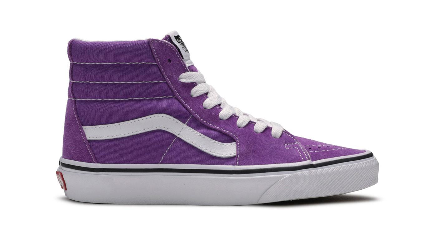 Vans Ua Sk8-Hi Dewberry/True White fialové VN0A4BV68ZP - vyskúšajte osobne v obchode