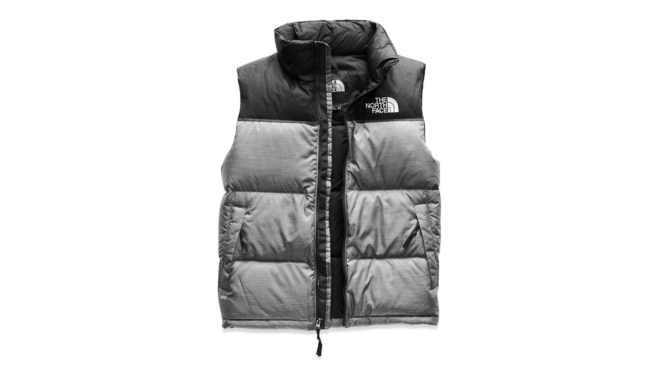 The North Face M 1996 Retro Nuptse Vest šedé NF0A3JQQDYY