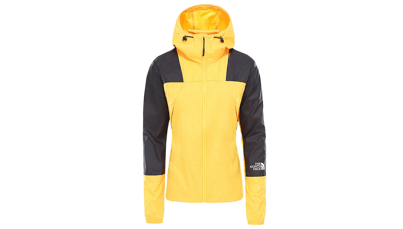 The North Face W Mountain Light Windshell Jacket Yellow žlté NF0A3S4A70M