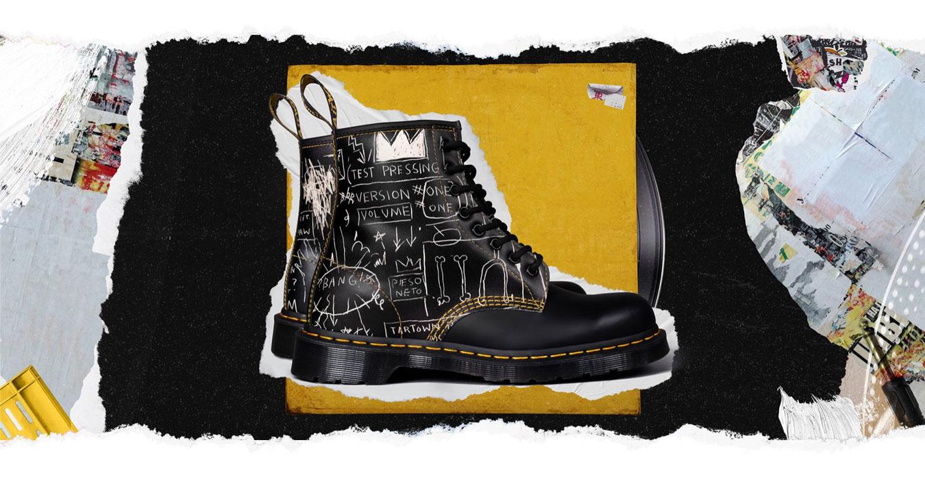Dr. Martens x Jean Michel Basquiat