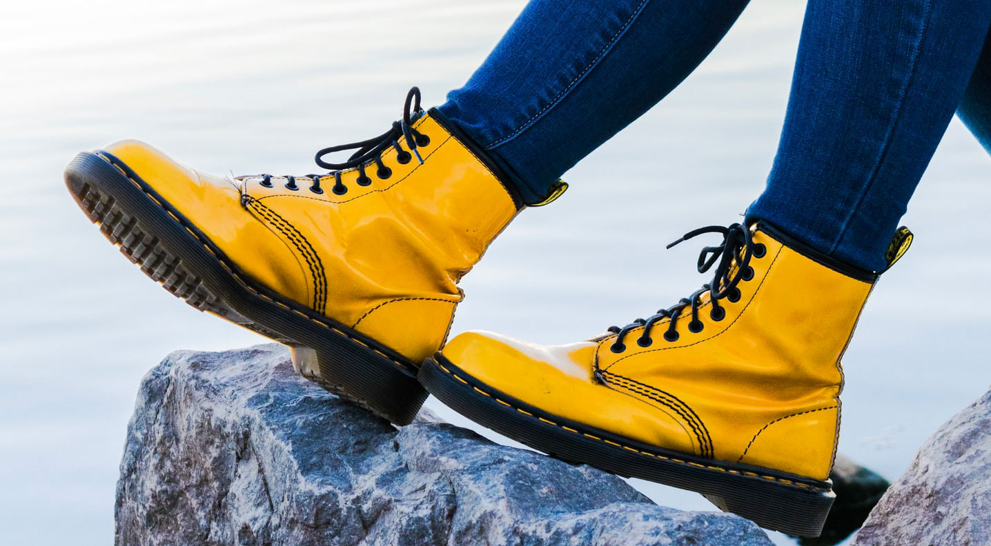 Dr. Martens - yellow